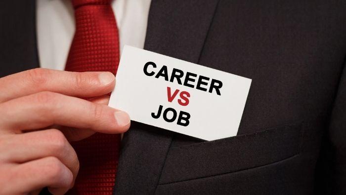 Jobs vs. Careers photo