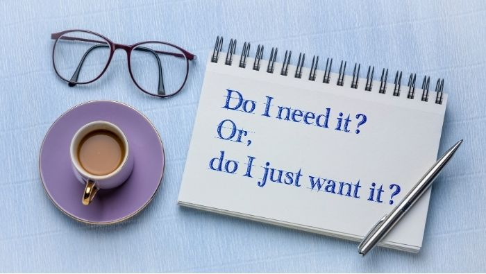 The Difference Between Wants and Needs photo