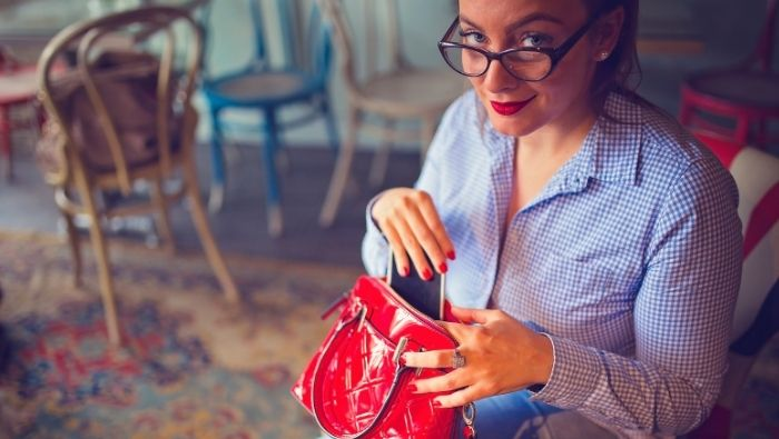 Things You'll Find In a Frugal Purse photo