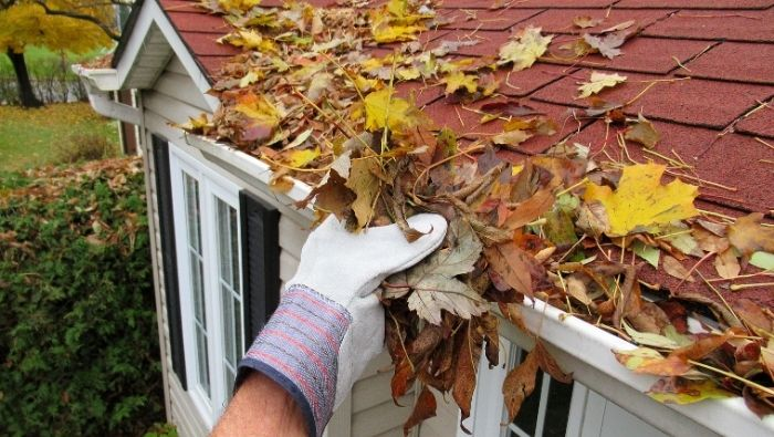 Easy DIY Gutter Cleaning photo