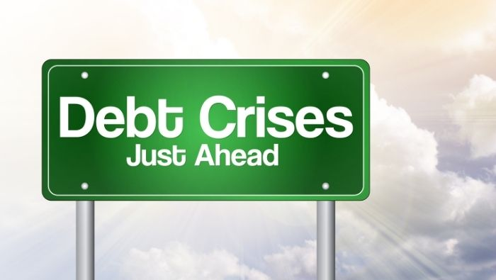 Are You IN a Debt Spiral photo
