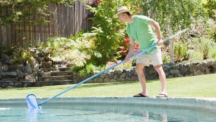 DIY Pool Maintenance for Less photo