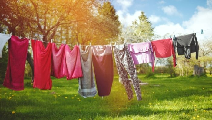 Benefits of Line Drying Clothing photo