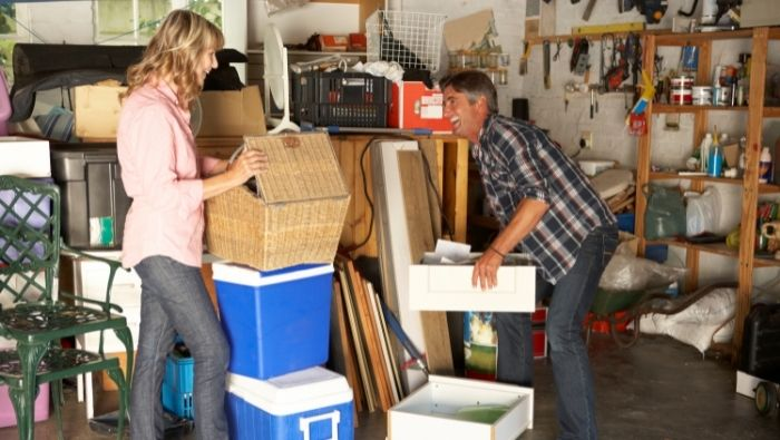 Declutter Your Garage on the Cheap photo