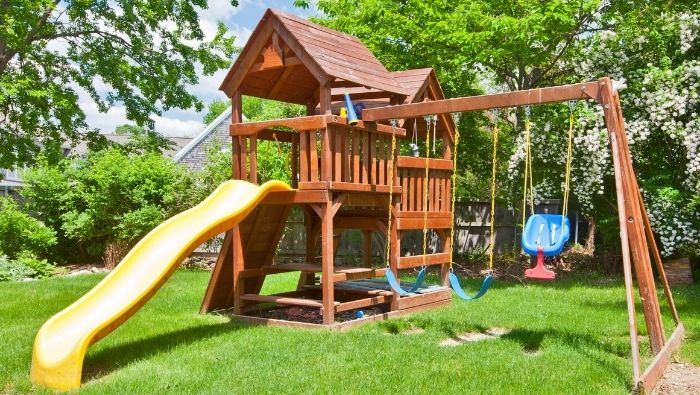 Affordable DIY Outdoor Play Structures photo