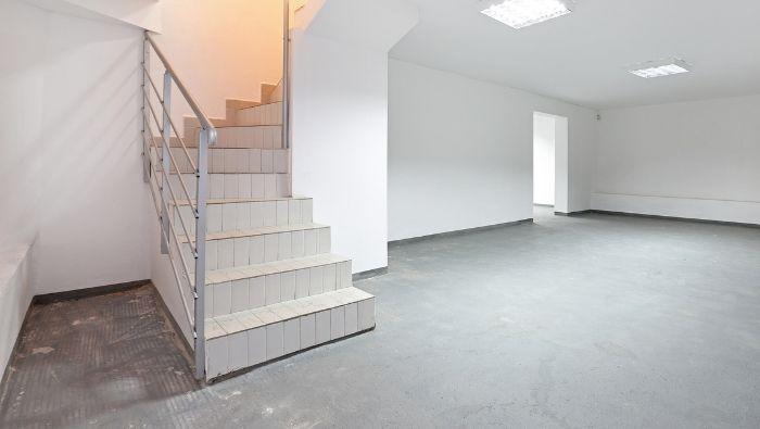 Cheap Concrete Basement Floor Solutions photo