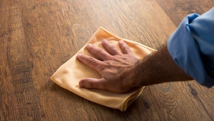 Cleaning Engineered Hardwood Floors photo