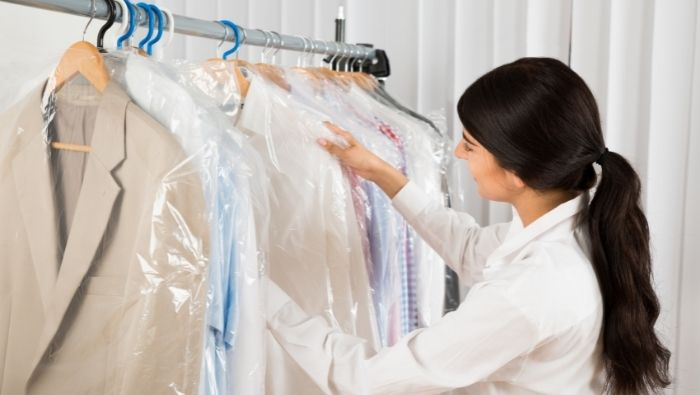 How to Remove Dry Cleaning Odors photo