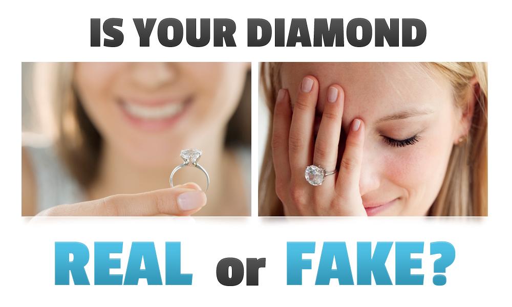 test diamond real or fake