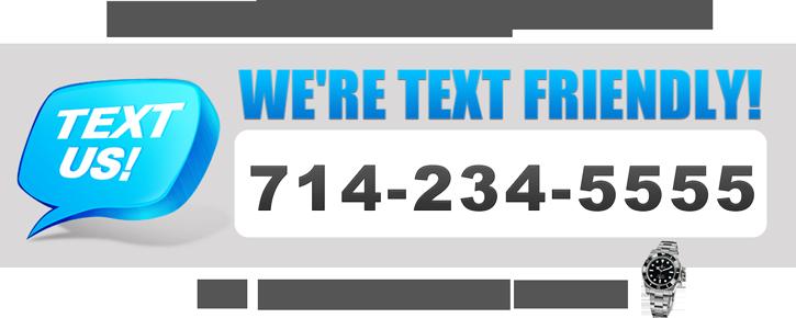 Text Friendly Rolex Buyer