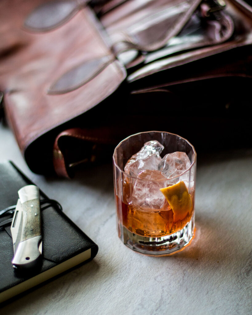 Apartment Bartender Oaxacan Old Fashioned