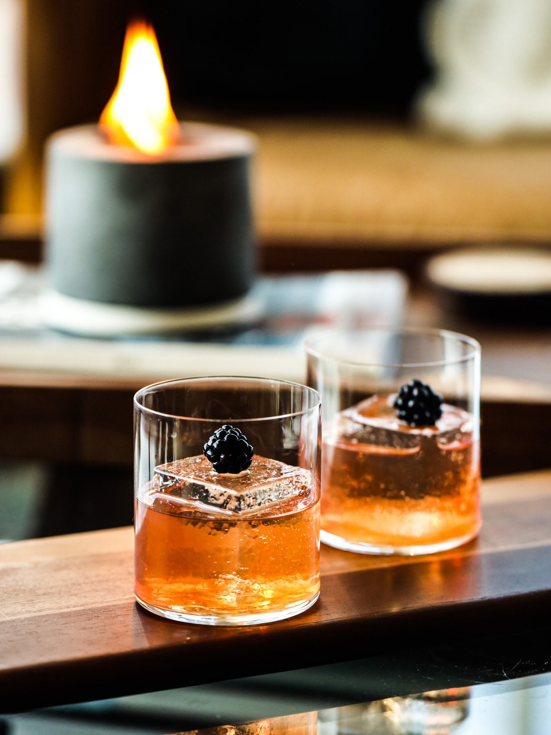 Blackberry Cognac Old Fashioned