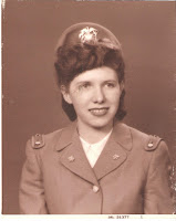 Mom at age 19,in her Navy Cadet uniform