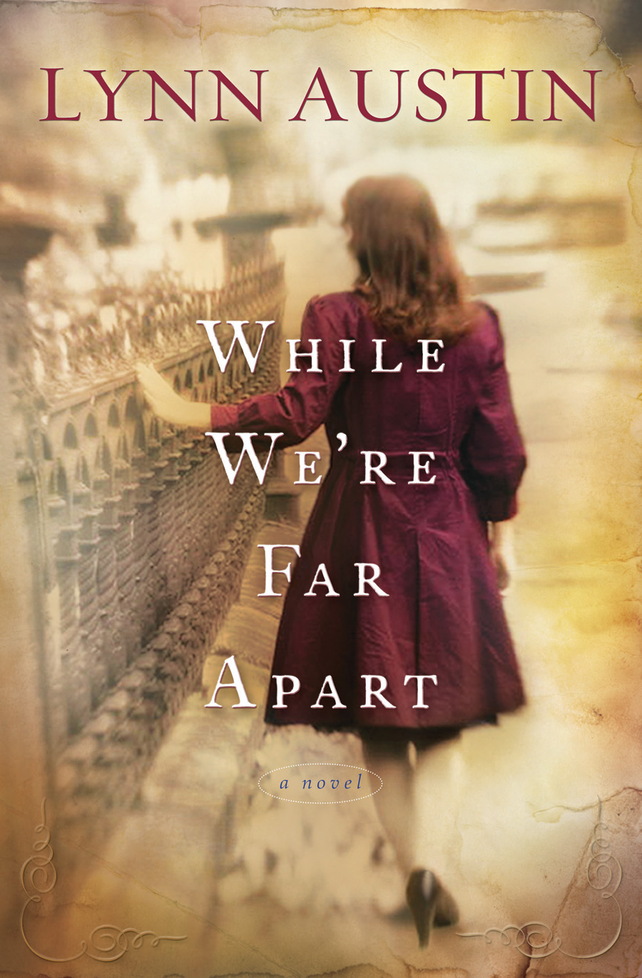 Book Cover: While We're Far Apart