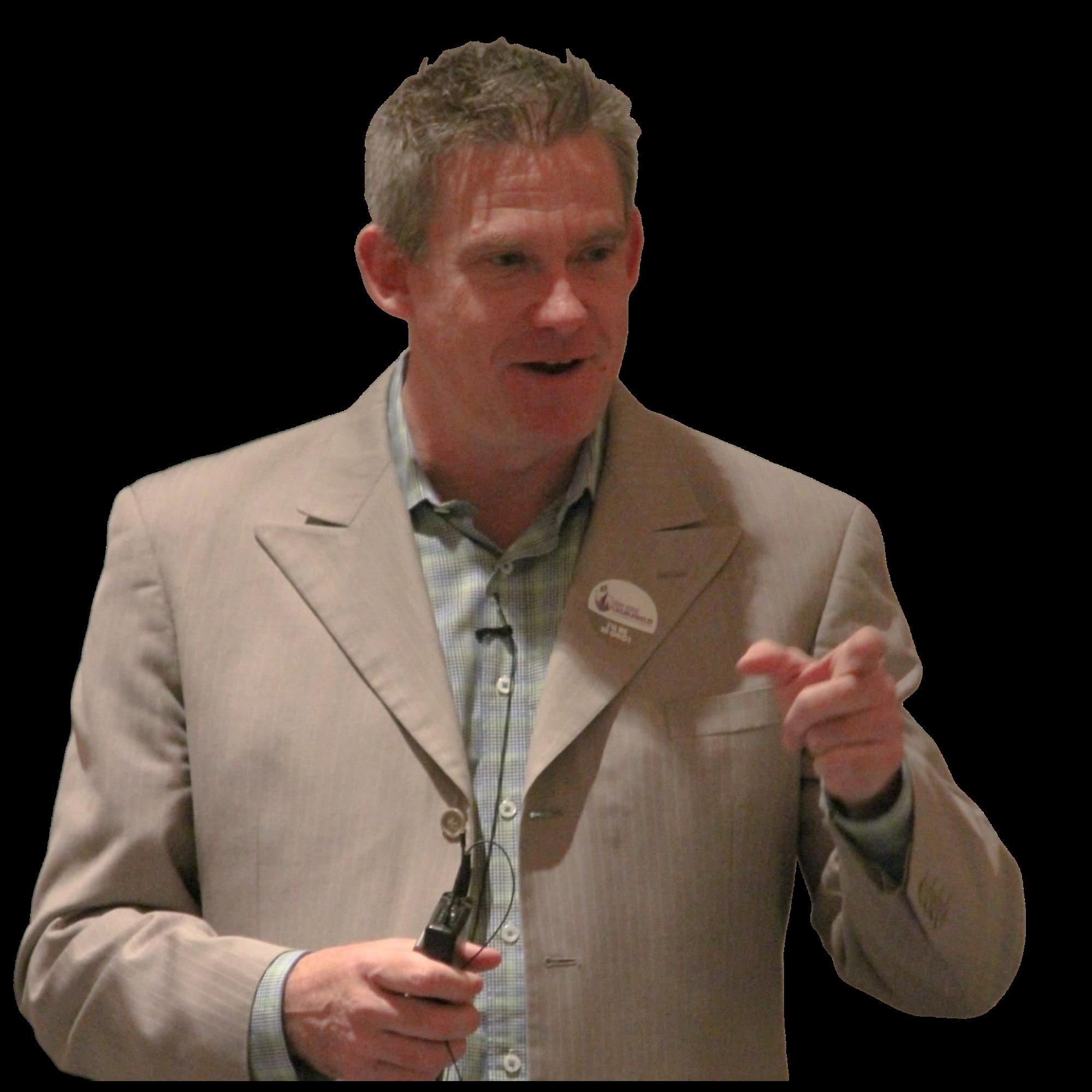 Steve Melia Public Speaker