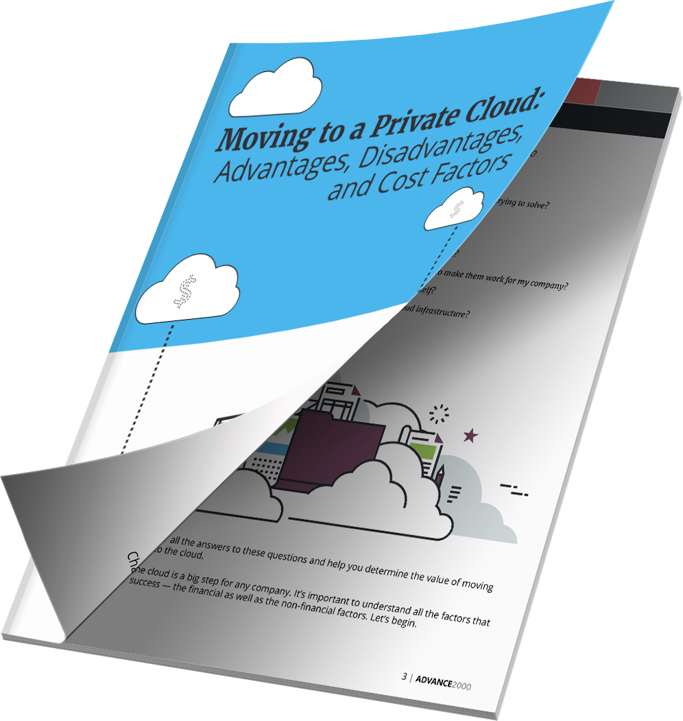 Advantages and Disadvantages of Moving to a Private Cloud