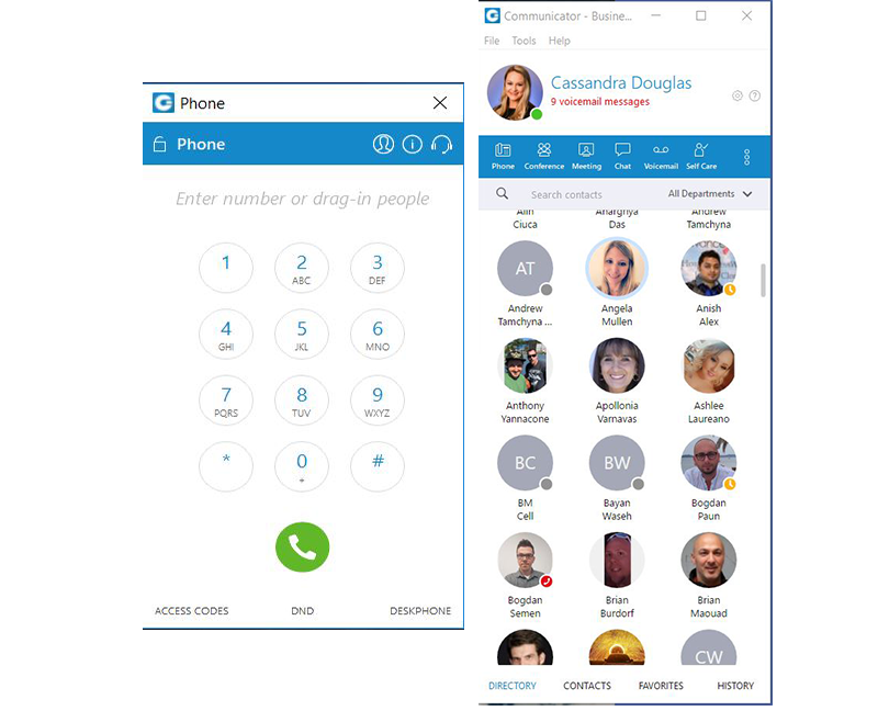 Cloud in-Touch Phone
