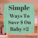 Simple Ways To Save Money On Baby #2