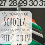 Review of Schoola and an Easy Way to Get FREE Clothes
