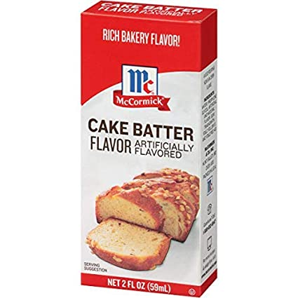 Cake Batter Extract