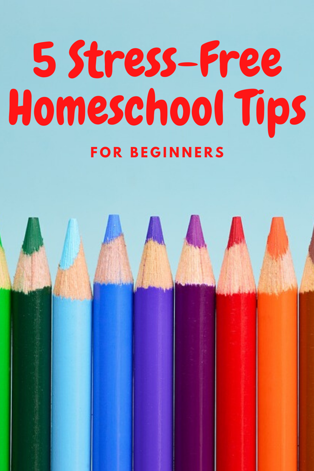 """Are you apart of the sudden rush of """"new"""" homeschoolers"""" Check out these stress free homeschool tips for beginners! They'll make life so much easier!"""