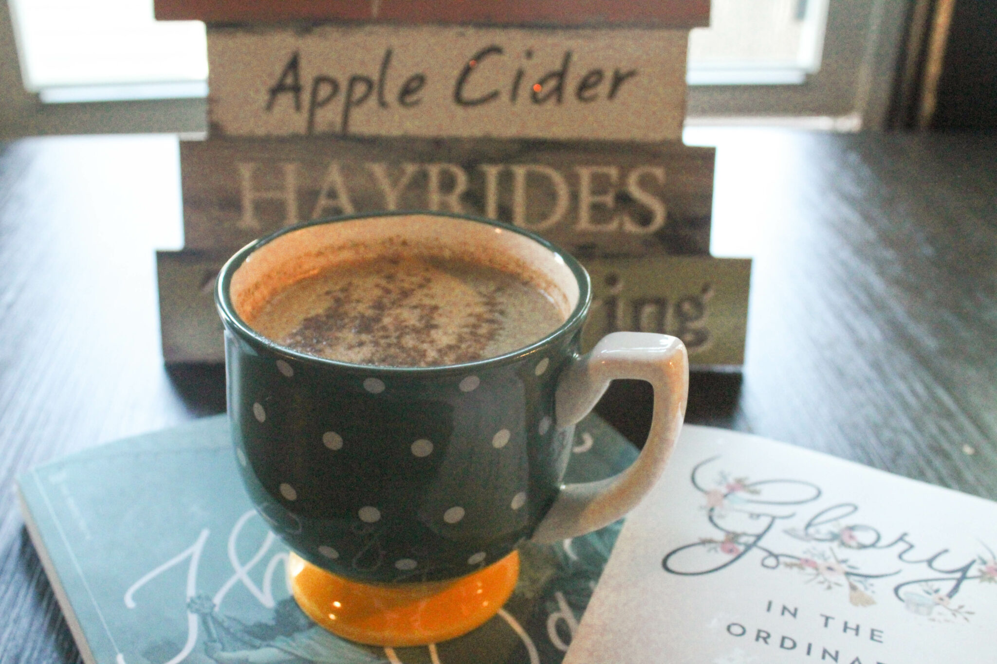 My Oolong Pumpkin Spice Latte is a unique twist on a typical Fall treat. This foamy drink gives you the joy of Fall with added health benefits
