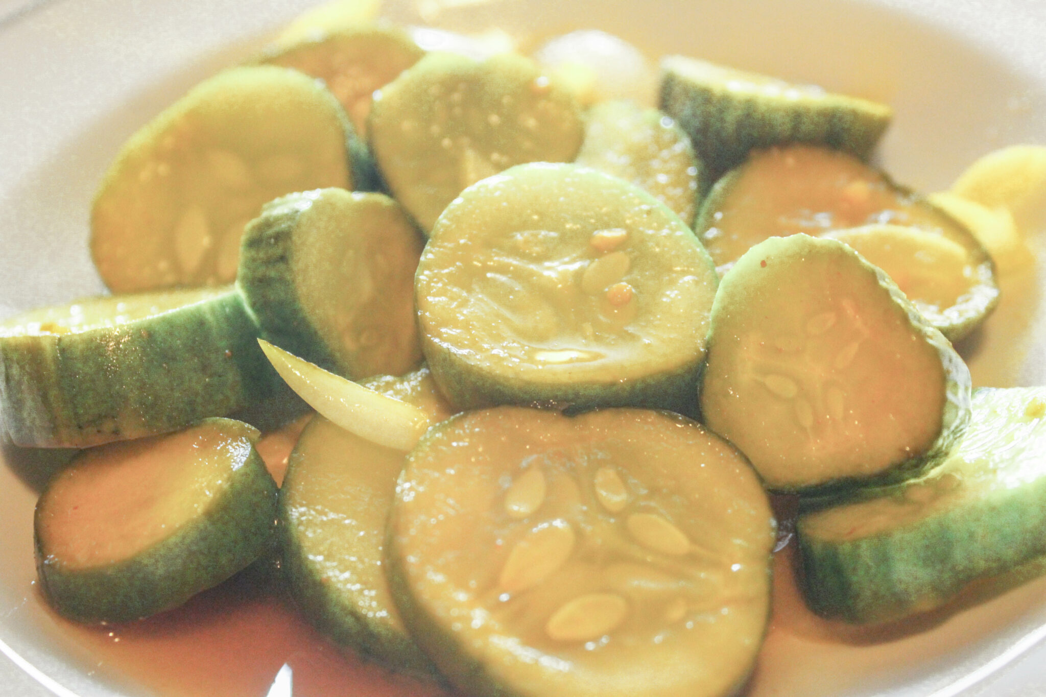 My Bread and Butter Refrigerator Pickles are sugar-free and a THM:FP!