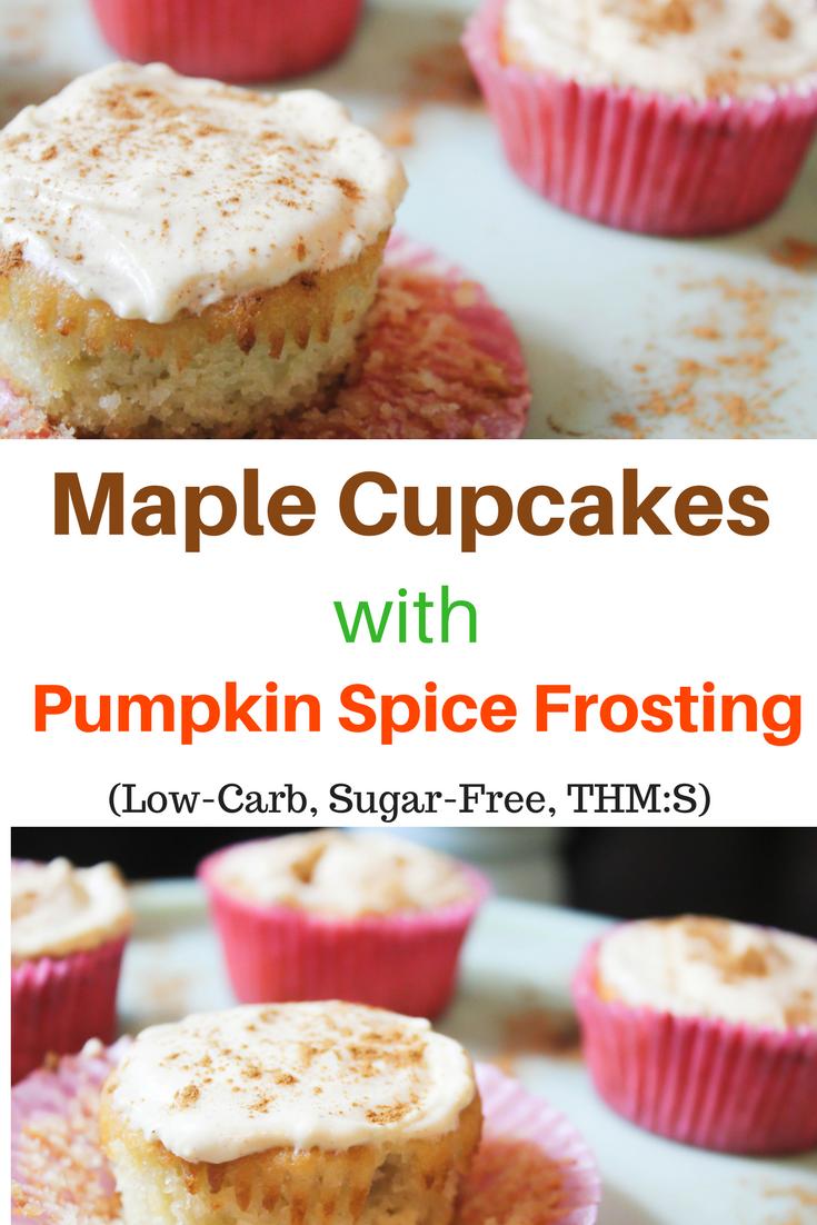 cupcakes, maple, pumpkin spice