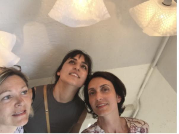 Les napperons de tata Paulette…et non ! Lampes très design .