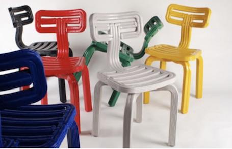Notre sélection de chaises très arty ! Artymooi