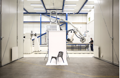 Marleen Kaptein, étonnant mix entre art et robotique ….