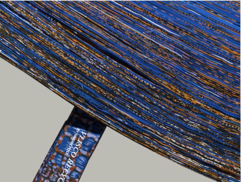 Sympas ces tapis recyclés, Simone Post & Vlisco