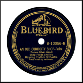 Bluebird with RCA Dog