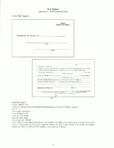 Form 560 Type 6: Federal Application Card for State Ballot