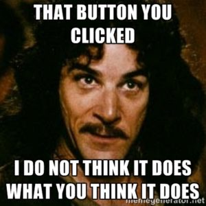 Missing WordPress Post: button clicked