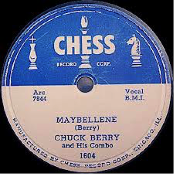 Record Label: Early Chess record in a 78 format
