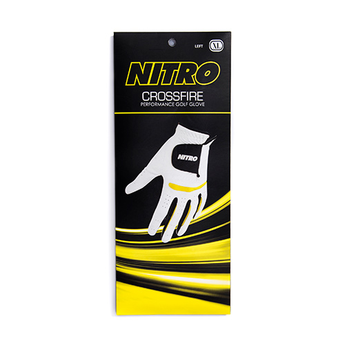 Crossfire Yellow Golf Glove
