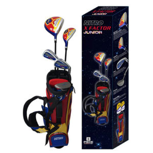 Junior X factor golf club set