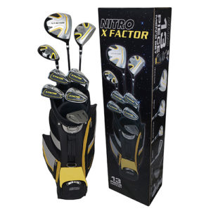 Mens X factor Golf Set