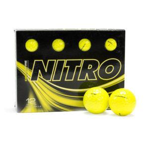 Crossfire Yellow Golf Balls