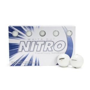 Whiteout White Golf Balls