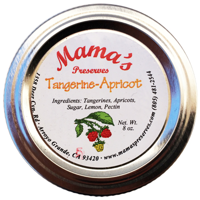 Tangerine Apricot Preserves