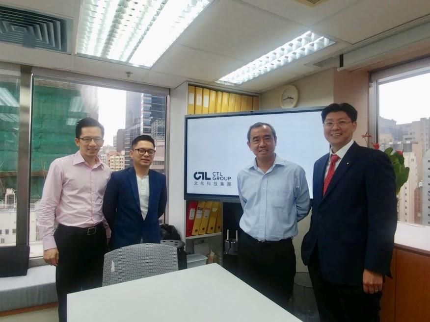 Meeting between leaders of ScentAir and CTL Group