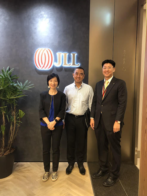 Meeting between the leaders of ScentAir and JLL Jones Lang Lasalle