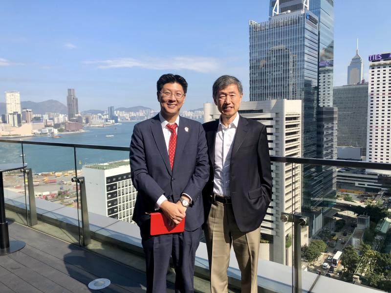 Catching up with the Chairman of PAG Weijian Shan