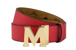 MCM+Round+Auto+Reversible+Gold+Buckle+Belt+Red+MYB4AVI41-RE-1