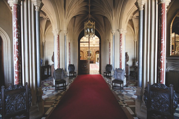 ENTRANCE HALL (C)Highclere Castle_1