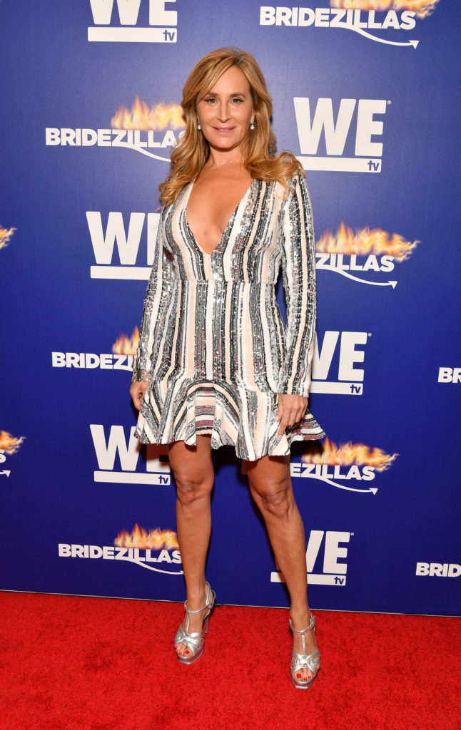 """Sonja Morgan attends WEtv's premiere fashion event celebrating the return of """"Bridezillas"""" on March 13, 2019 at Angel Orensanz Foundation in New York City. (Photo by Dia Dipasupil/Getty Images for WEtv)"""