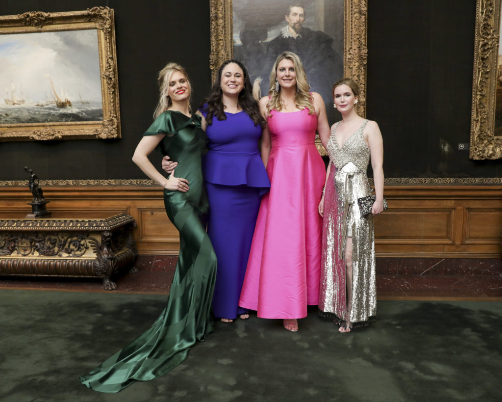 Jasmine Lobe, Patricia Ruiz-Healy, Kathryn Kerns, and Laura Day Webb; photo: Carl Timpone/BFA.com