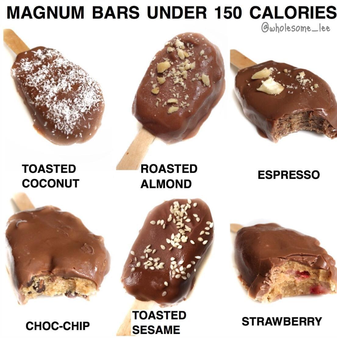 Healthy Magnum Bars